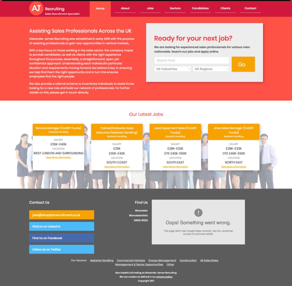 old website ajs